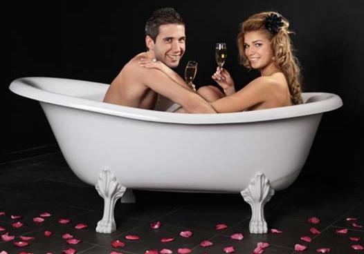 科学的洗澡方式洗出性福生活
