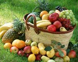 这些水果蔬菜都成熟了,是健康养生最好的滋补品