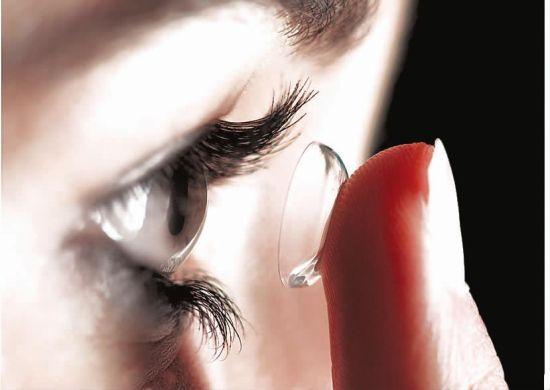 糖友别戴隐形眼镜,太伤眼!